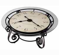 Howard Miller Ravenna 615-010 Clocktail Table Clock