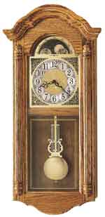 Howard Miller Fenton 620-156 Chiming Wall Clock