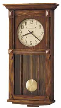 Howard Miller Ashbee II 620-185 Mission Style Wall Clock