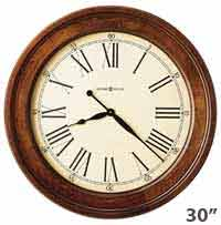 Howard Miller Grand Americana 620-242 Large Wall Clock