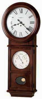 Howard Miller Lawyer II 620-249 Keywound Wall Clock