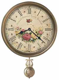 Howard Miller Savannah Botanical VII 620-440 Wall Clock