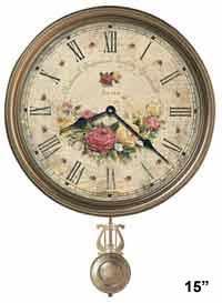 Howard Miller Savannah Botanical VII 620-440 Wall Clock