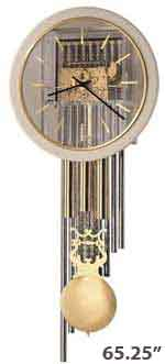 Howard Miller Focal Point 622-779 Tubular Chime Wall Clock
