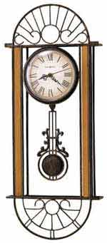 Howard Miller Devahn 625-241 Wrought Iron Wall Clock