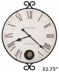 Howard Miller Magdalen 625-310 Large Wall Clock
