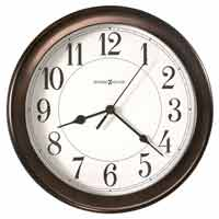 Howard Miller Virgo 625-381 Bronze Wall Clock