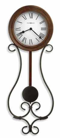 Howard Miller Yvonne 625-400 Wrought-Iron Wall Clock