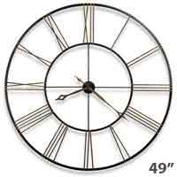 Howard Miller Postema 625-406 49 Inch Large Wall Clock