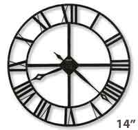Howard Miller Lacy II 625-423 Wrought Iron Wall Clock