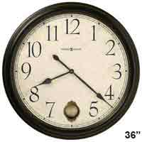 Howard Miller Glenwood Falls 625-444 Large Wall Clock