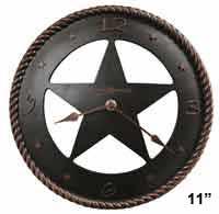 Howard Miller Maverick 625-445 Texas Star Wall Clock