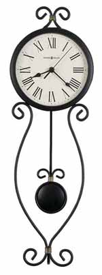 Howard Miller Ivana 625-495 Iron Wall Clock