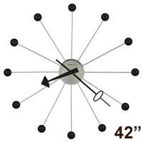 Howard Miller Ball Clock 625-527 42 Inch George Nelson Clock