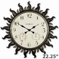 Howard Miller Sunburst II 625-543 Wall Clock