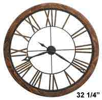 Howard Miller Thatcher 625-623 Large Wall Clock