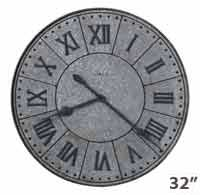 Howard Miller Manzine 625-624 Large Wall Clock