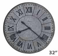 Howard Miller Manzine 625-624 Large Wall Clock