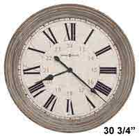 Howard Miller Nesto 625-626 Large Wall Clock