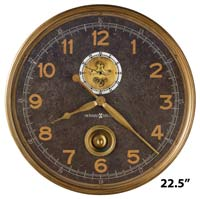 Howard Miller Saunders 625-732 Gallery Wall Clock