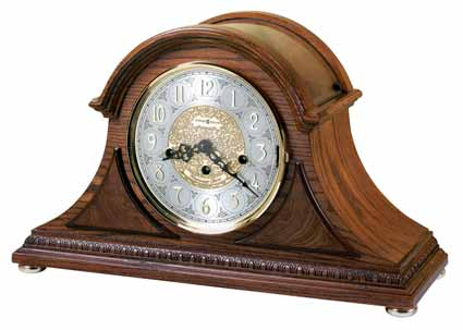 Howard Miller Barrett II 630-202 Keywound Mantel Clock