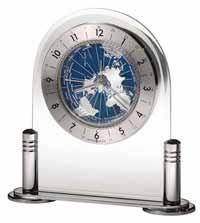 Howard Miller Discoverer 645-346 World Time Alarm Clock