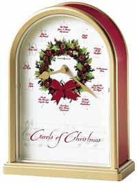 Howard Miller Carols of Christmas II 645-424 Christmas Clock