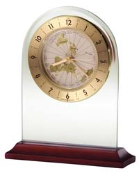 Howard Miller World Time Arch 645-603 Tabletop Clock