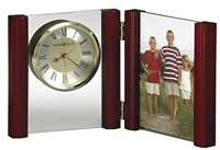 Howard Miller Alex 645-618 Picture Frame Table Clock