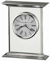 Howard Miller Clifton 645-641 Glass Table Clock
