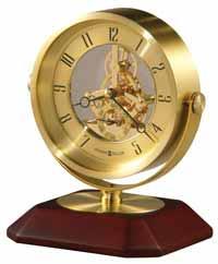 Howard Miller Soloman 645-674 Skeleton Table Clock
