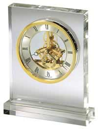Howard Miller Prestige 645-682 Glass Table Clock