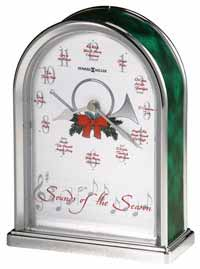 Howard Miller Sounds of the Season 645-687 Xmas Clock