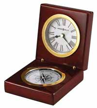 Howard Miller Pursuit 645-730 Compass Time Desk Clock
