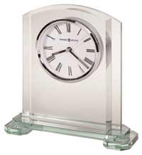 Howard Miller Stratus 645-752 Glass Desk Clock