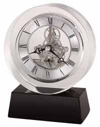 Howard Miller Fusion 645-758 Crystal Desk Clock