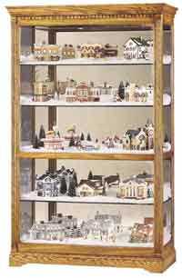 Howard Miller Parkview 680-237 Village Curio Cabinet