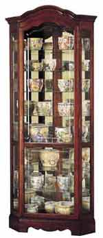 Howard Miller Jamestown 680-249 Corner Curio Cabinet