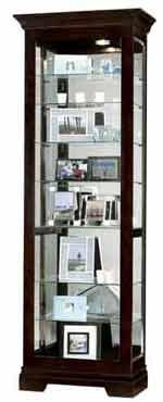 Howard Miller Saloman 680-412 Curio Cabinet