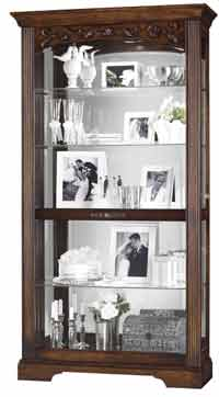 Howard Miller Hartland 680-445 Curio Cabinet