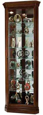 Howard Miller Drake 680-483 Corner Curio Cabinet