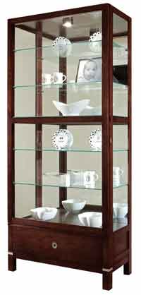 Howard Miller Williamson 680-515 Curio Cabinet