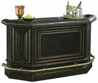 Howard Miller Northport 693-009 Bar in Worn Black