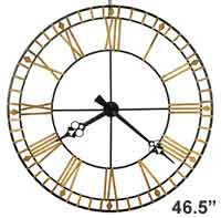 Howard Miller Avante 625-631 Large Wall Clock