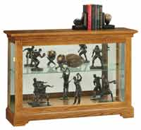Howard Miller Burrows 680-535 Console Curio Display Cabinet