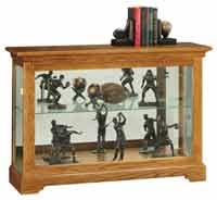Howard Miller Burrows 680-535 Console Curio Display Cabinet