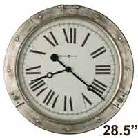 Howard Miller Chesney 625-719 Porthole Wall Clock