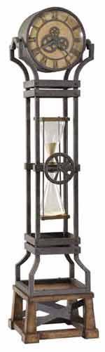 Howard Miller Ironworks 615-074 Quartz Floor Clock