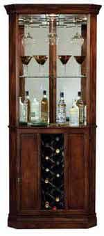 Howard Miller Piedmont 690-000 Corner Wine Cabinet