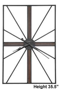 Howard Miller Red Hook 625-703 Wall Clock